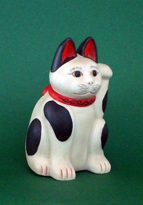 Japanese Good Luck Cat, Meneki Neko