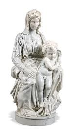 Madonna of Bruges with Baby Jesus by Michelangelo