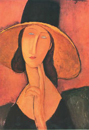 modigliani art replicas parastone