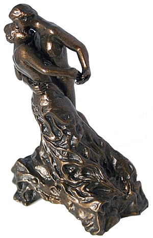 Pocket Art The Waltz by Camile Claudel Miniature Statue