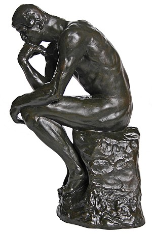 The Thinker Grande by Rodin