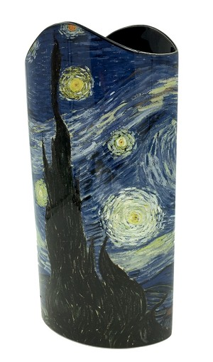 Van Gogh Starry Night Art Museum Ceramic Vase