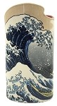 Hokusai Great Wave Off Kanagawa Japanese Ceramic Flower Vase