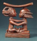 Luba Couple African Headrest