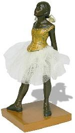 Fourteen-year-old Little Dancer Ballerina Statue by Degas