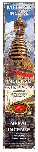 Nepali Mythos Incense - 3 PACK