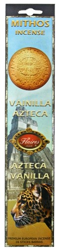 Aztec Vanilla Mythos Incense - 3 PACK