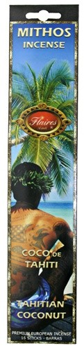 Tahitian Coconut Mythos Incense - 3 PACK