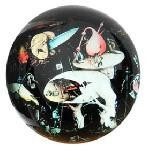 Tree Man from Garden of Earthly Delights Glass Paperweight by Bosch