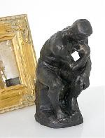 The Thinker Statue by Auguste Rodin, Parastone Collection
