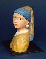 Girl with Pearl Earring by Vermeer, Parastone