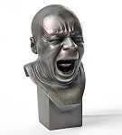 Pocket Art Yawner Man Portrait Bust by Messerschmidt