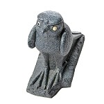 Egyptian Falcon Bird Statue with One Eye Drawn