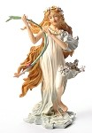 Spring Maiden from Four Seasons by Mucha - MUC04