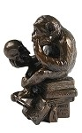 Pocket Art Rheinhold Monkey Statue
