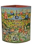 Garden of Earthly Delights Vase by Hieronymos Bosch SDA10 Silhouette d'Art