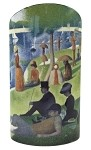 Seurat Sunday Afternoon La Grande Jatte Museum Art Ceramic Flower Vase