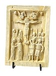 Byzantine Christian Christ on Cross Crucifixion Tablet BYZ01 Parastone