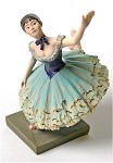 Danseuse Verte Green Ballerina Dancer Statue by Degas
