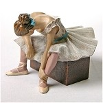 L'attente The Waiting Ballerina Statue (1882) by Degas