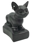 Cat Egyptian Wearing Earrings Bracelets Small Figurine from Ptolemaic Period 3L