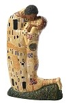 The Kiss Man and Woman Hugging Statue by Gustav Klimt