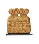 Mesopotamian Eye Idol Statue, Miniature