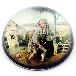 Prodigal Son Glass Paperweight by Bosch - special order