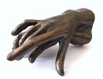 Two Holding Hands Small Statue Rodin 3.75L