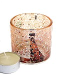 Klimt Expectation Glass Tealight