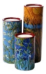 Van Gogh Tealight Candleholder Set of 3