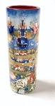Bosch Garden of Earthly Delights Ceramic Flower Bud Vase